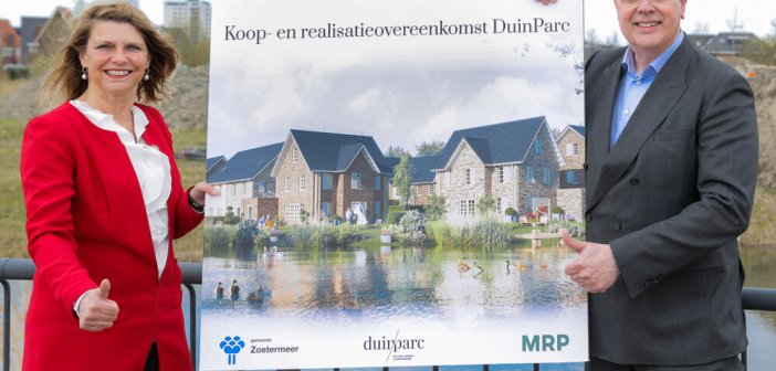 MRP en gemeente Zoetermeer tekenen koop- en realisatieovereenkomst Duinveld
