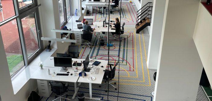 Stox Energy Socks huurt nieuwe en grotere kantoorruimte in het Olympisch Stadion