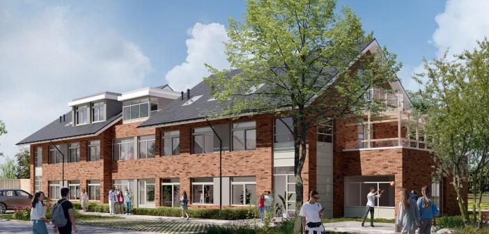 Bouw 16 huurwoningen van Credit Linked Beheer gestart in gemeente Houten