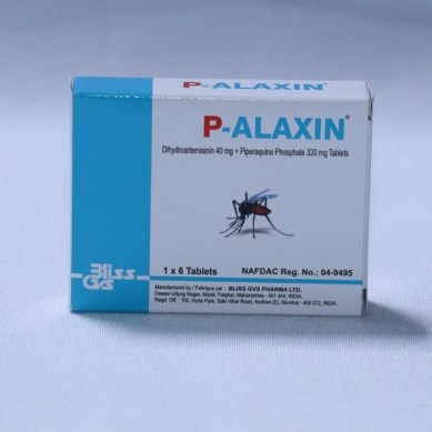 P-Alaxin 1 x 6 Tablets