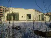 Höjdens förskola Henriksdal på Henriksdalsbergets innergård