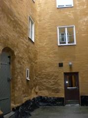Danviks dårhus innergård