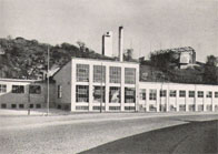 Henriksdals reningsverks maskinhus på 40-talet