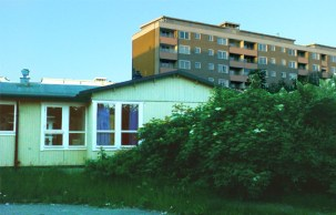 Rivna Höjdens förskola på Henriksdalsbergets innergård