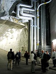Tunneln mellan Saltsjöqvarns kaj och Hästholmsvägen