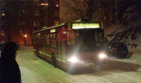 Buss 53 på Danviksklippan