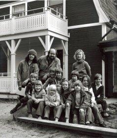 Kvarnens dagis på Kvarnholmen 1984