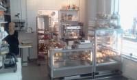 Serveringen på Bakarna kafé i Henriksdalshamnen