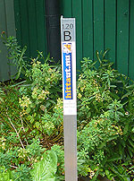 Kontrollpunkt eller checkpoint inom Järla Orienterings hittaut.nu