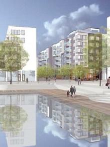Abacus kvarter Ruffen i Henriksdalshamnen
