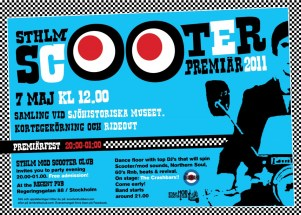 Scooterpremiär 2011