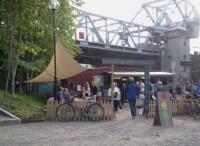 Boule & Berså nedanför Danviksbron