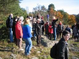 Vandring på Kvarnholmen i Nacka 2008