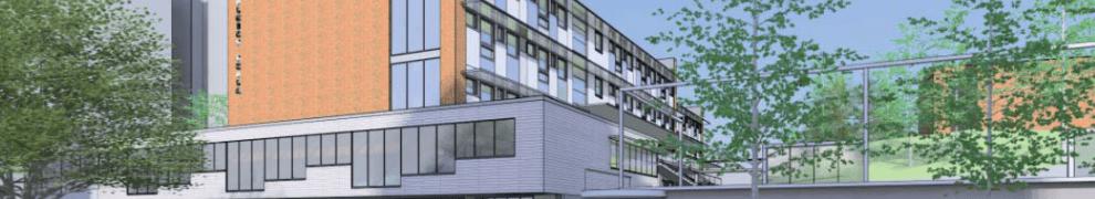 Kvarnholmens planerade skola enligt Cedervall Arkitekter