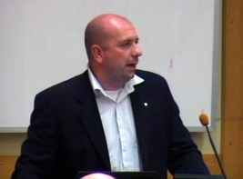 Mikael Carlsson från Nackalistan i Nacka kommunfullmäktige