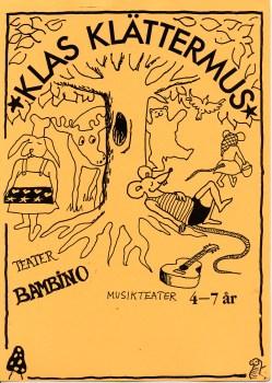 Affisch för Klas Klättermus