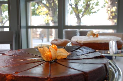 Chokladkaka på Fåfängan restaurang
