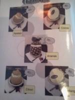 Glass i fruktskal på Bee's thairestaurang i Henriksdalshamnen