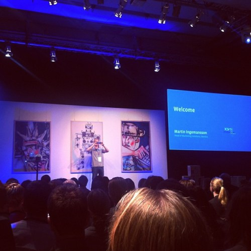 Facebook Studio Live 2012 i Finnboda
