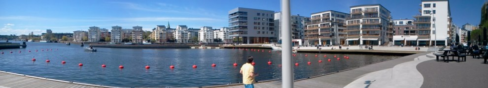 Marinan på Jan Inghes torg i Henriksdalshamnen