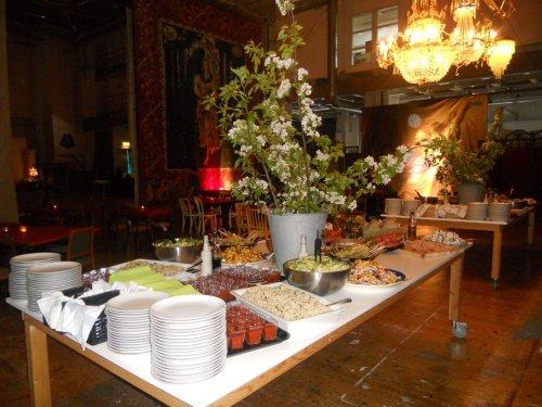 Milou Caterings mat för Kungliga Daramatens vårfest