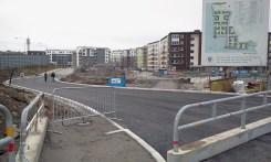 Ny sträckning för Kanalvägen från Henriksdalshamnen mot Danviksklippan