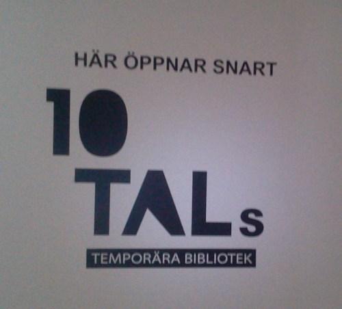 Tidskriften 10 TAL öppnar temporär bibliotek i Danvikens Hospital, Saltsjöqvarn