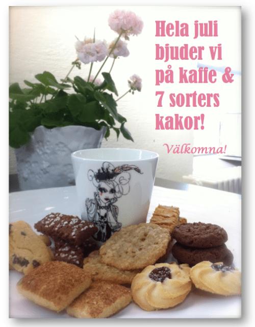 Finnboda, Nacka: Fogia bjuder på kaffe och kakor