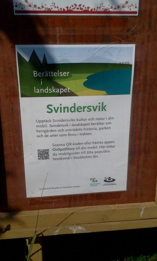 Berättelser i landskapet: Svindersvik gård