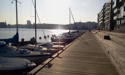 stockholm, henriksdalshamnen: henriksdalskajen