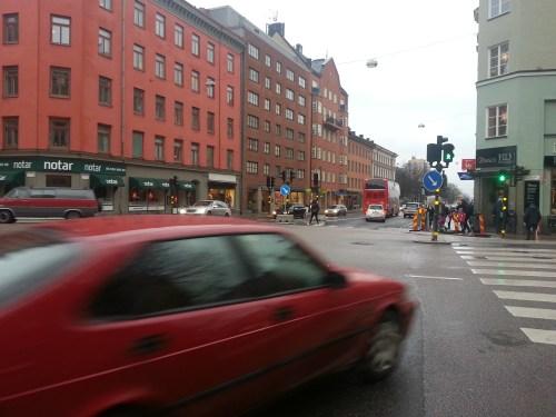 Södermalm, Stockholm: Korsningen Folkungagatan - Renstiernas gata