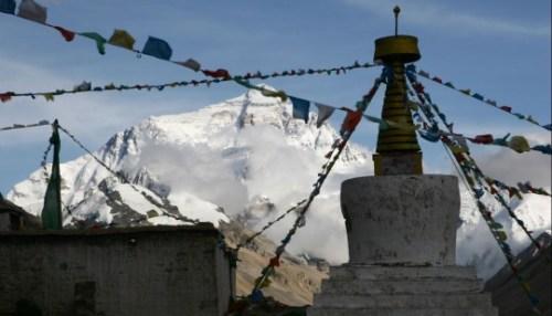 Himalaya-bergen i Tibet
