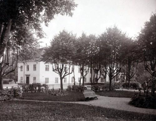 Saltsjöqvarn, Nacka: Hospitalsparken eller barockparken vid Danviks Hospital