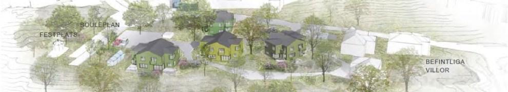 Danvikshem, Nacka: Planerade parvillor