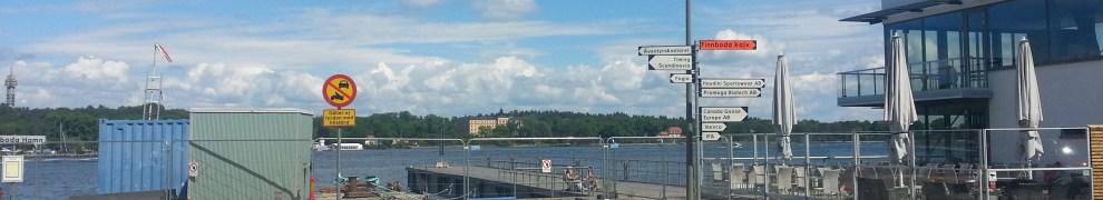 Finnboda, Nacka: Ordinare brygga för Sjövägen avstängd