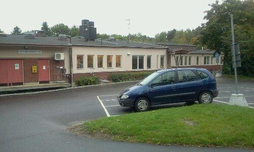 Parkeringen på Vilans skola