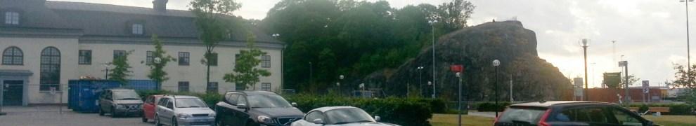 Gäster till Boule & Berså parkerar olovligt runt Danviks Hospital