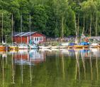 Nedanför Trolldalen finns tre båtklubbar (bild: photosbykirsti)