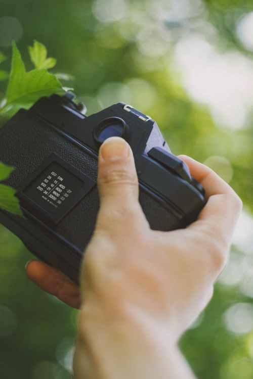 Fototävling med kamera eller mobil