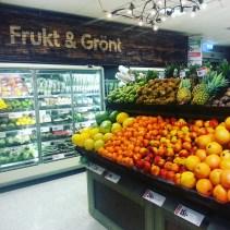 avdelningen för frukt och grönt