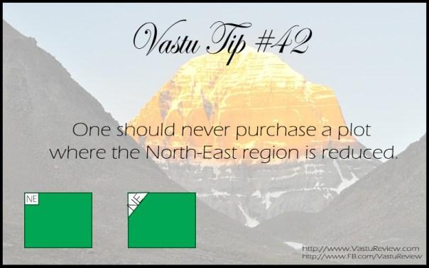 Vastu Tip #42: Reduction in North-East vastu review