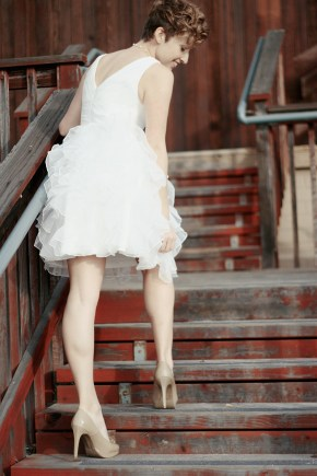 LITTLE WHITE DRESS 139