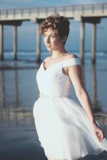 LITTLE WHITE DRESS 516