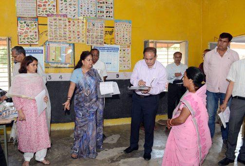 मुख्यमंत्री ने पीचूबाड़ा आंगनबाड़ी में कम पोषाहार पर जताई नाराजगी दिए जांच के आदेश