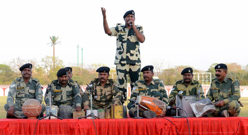 Army Show on Rajasthan Diwas 2017