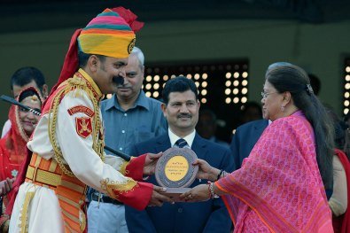CM Vasundhara Raje on Rajasthan Diwas 2017