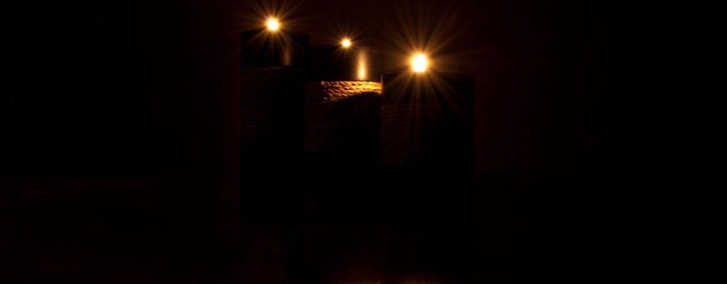 На тъмно