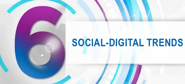 6 тенденции за социално-дигиталната 2013