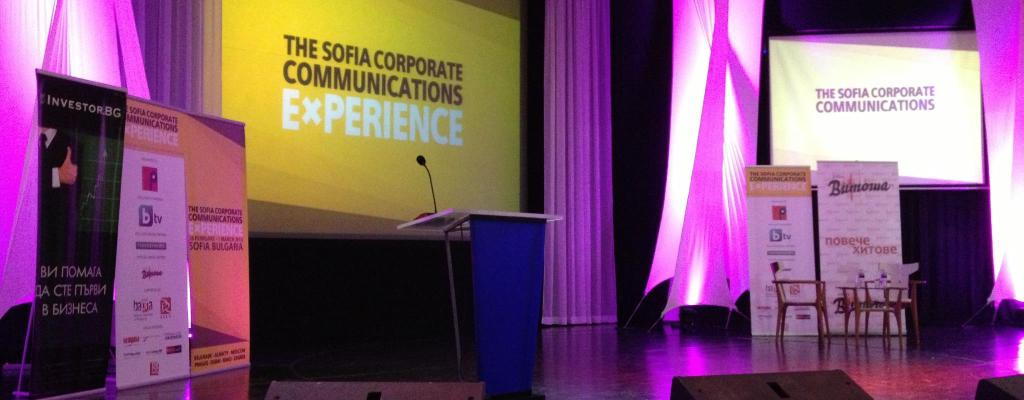 Sofia Corporate Communications Experience