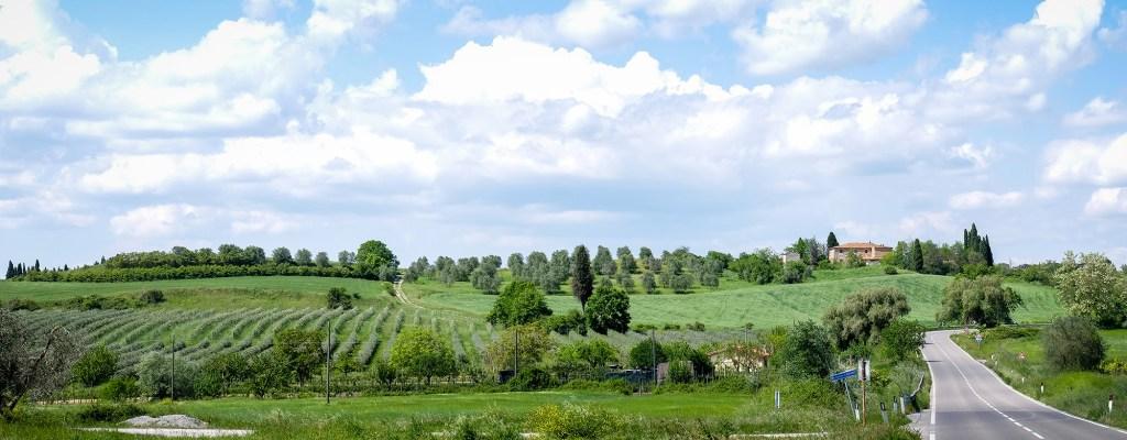 По хълмовете на Тоскана